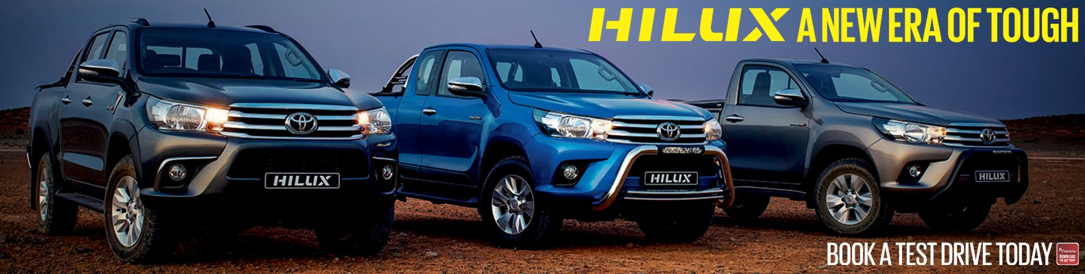 All New Hilux Randomiser